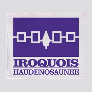 Iroquois Flag Throw Blanket