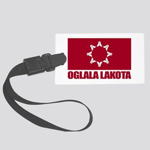 Oglala Lakota Luggage Tag