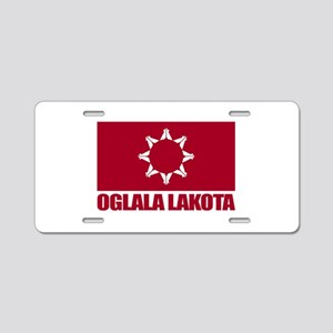 Oglala Lakota Aluminum License Plate