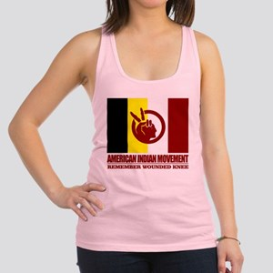American Indian Movement Racerback Tank Top