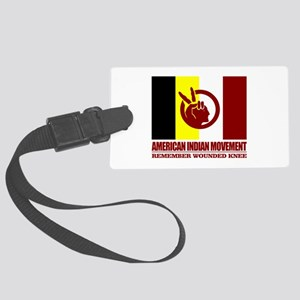 American Indian Movement Luggage Tag
