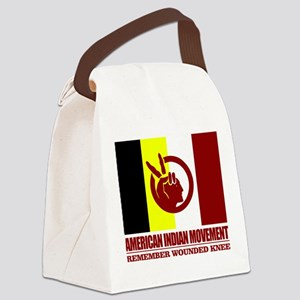American Indian Movement Canvas Lunch Bag