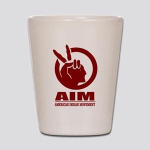 AIM (American Indian Movement) Shot Glass