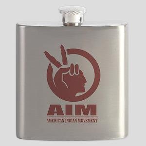 AIM (American Indian Movement) Flask
