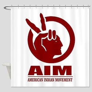 AIM (American Indian Movement) Shower Curtain