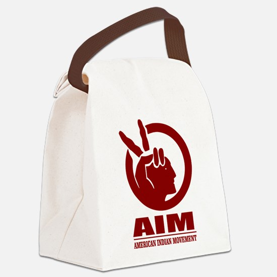 AIM (American Indian Movement) Canvas Lunch Bag