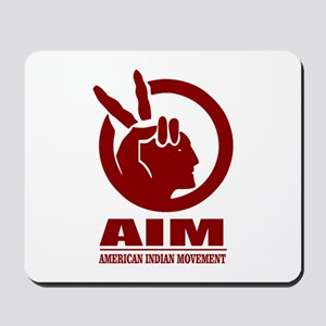 AIM (American Indian Movement) Mousepad