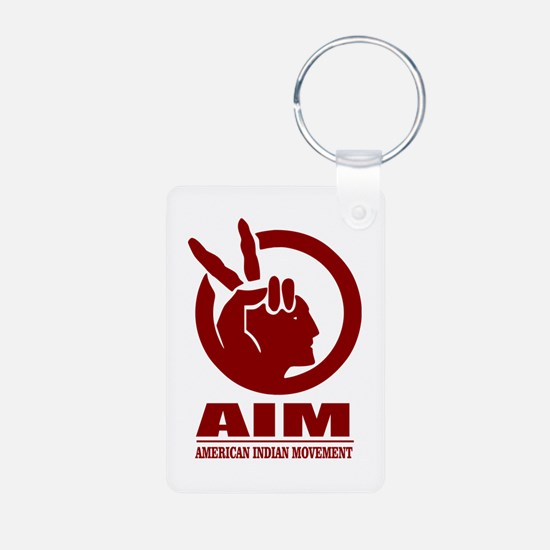 AIM (American Indian Movement) Keychains