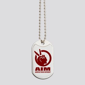 AIM (American Indian Movement) Dog Tags