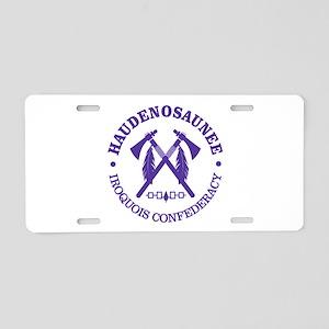 Iroquois (Haudenosaunee) Aluminum License Plate