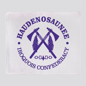 Iroquois (Haudenosaunee) Throw Blanket