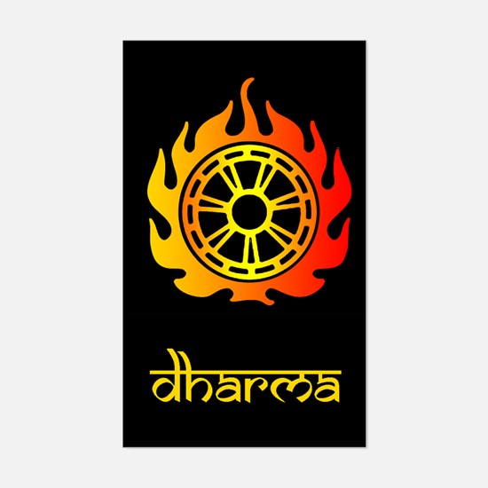 Dharma Sticker (Rect.)