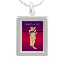 Hang In There Baby Kitten Necklaces