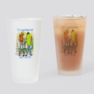 The Contractor Joint Venture Drinking Glass