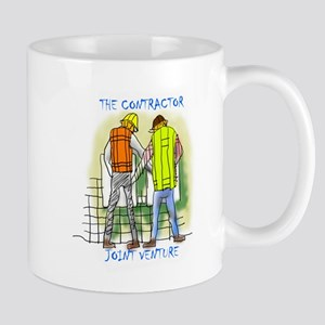 The Contractor Joint Venture Mugs
