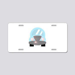 Baby Blue Car 2 Aluminum License Plate