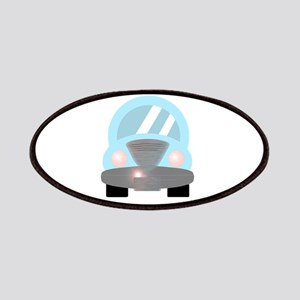 Cute Baby Blue Car 2 Patches