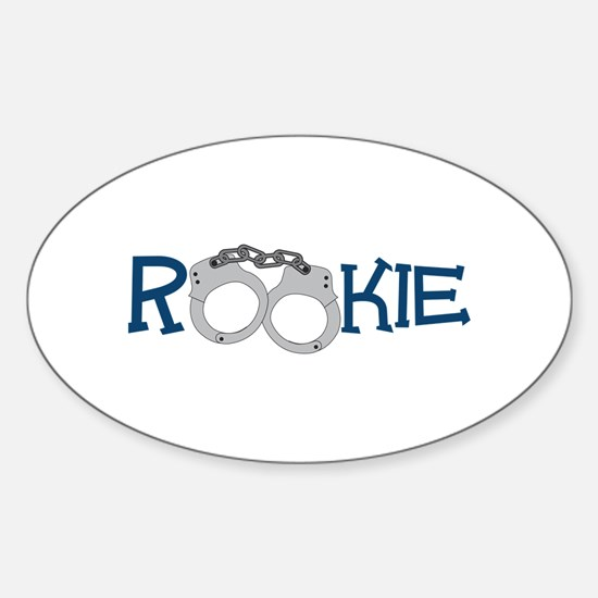 Rookie Sticker (Oval)