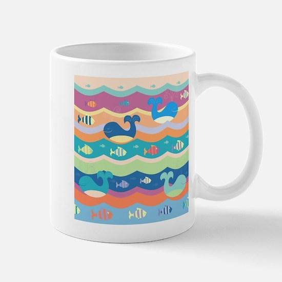 Cute Whales Mugs