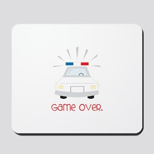 Game Over. Mousepad