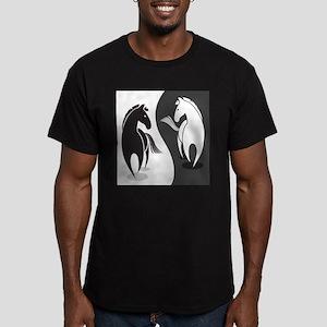 Yin Yang Horses T-Shirt