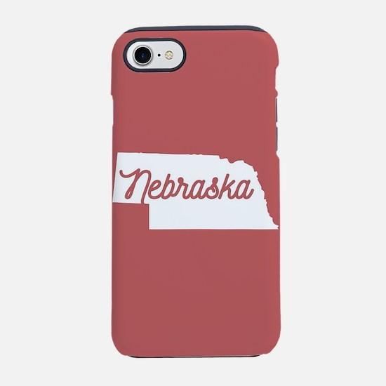 Nebraska iPhone 7 Tough Case