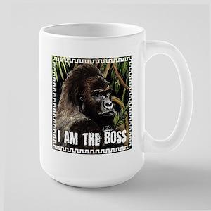 gorilla i am the boss Mugs