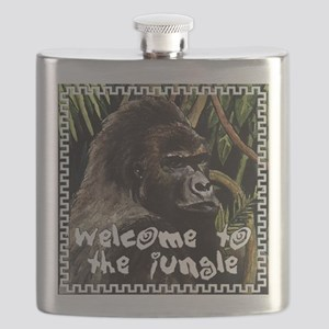 gorilla - welcome to tje jungle Flask