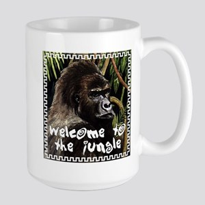 gorilla - welcome to tje jungle Mugs