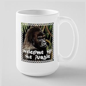 gorilla - welcome to tje jungle Mugs