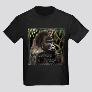 gorilla - welcome to tje jungle T-Shirt