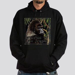 gorilla - welcome to tje jungle Hoodie
