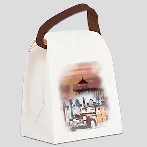 Manhattan Beach California Canvas Lunch Bag