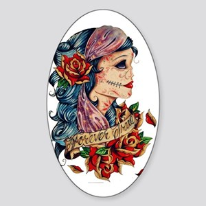 Tatts Sticker (Oval)