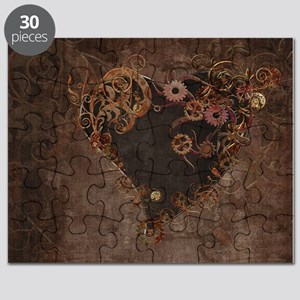 Steampunk Heart Puzzle