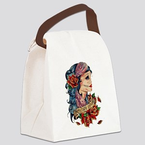Tattoo Canvas Lunch Bag