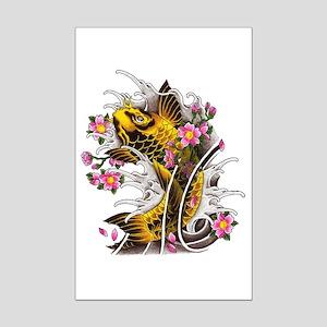 Tattooed Mini Poster Print