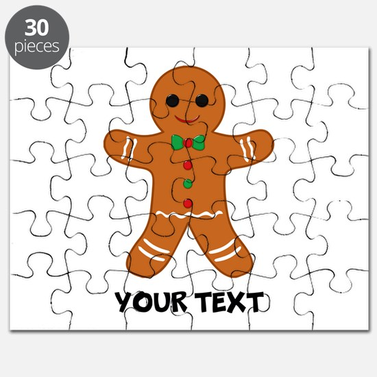 Personalized Gingerbread Man Puzzle