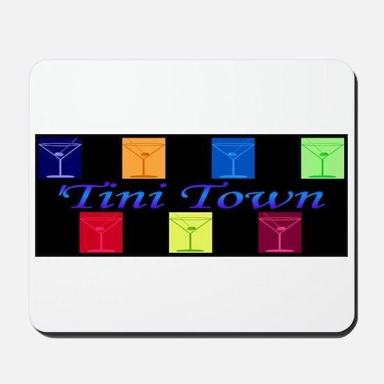 'tini town Mousepad