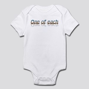 Twins - one of each Infant Bodysuit
