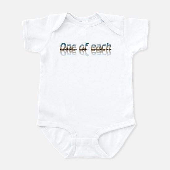 Twins - one of each Infant Bodysuit