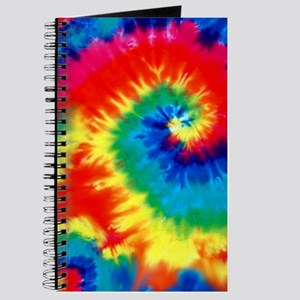 Psychedelic Tie Dye Pattern Journal