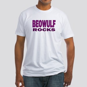 Beowulf Rocks Fitted T-Shirt