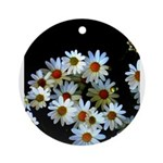 Blossoming darkness Ornament (Round)
