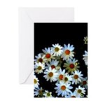 Blossoming darkness Greeting Cards