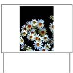 Blossoming darkness Yard Sign