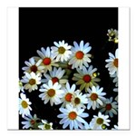 Blossoming darkness Square Car Magnet 3