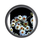 Blossoming darkness Wall Clock