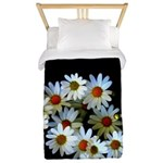 Blossoming darkness Twin Duvet