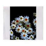 Blossoming darkness Throw Blanket